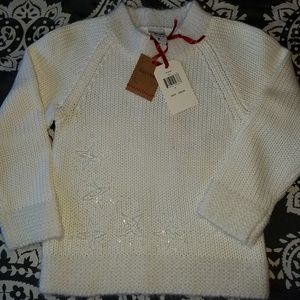 Oshkosh Girls size 5 Holiday sweater
